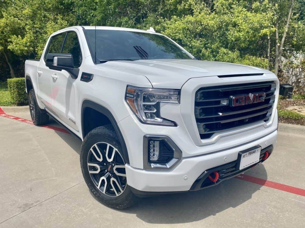 2021 GMC Sierra AT4 full front xpel ultimate plus ppf